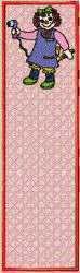 FSL Raggedy Ann Bookmark embroidery design
