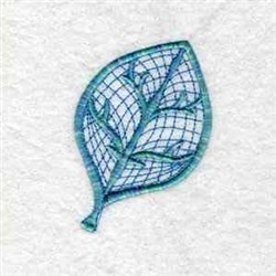 Lace Leaf embroidery design