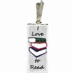 FSL Winter Bookmark embroidery design