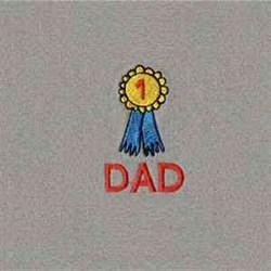 Dad Wallet embroidery design