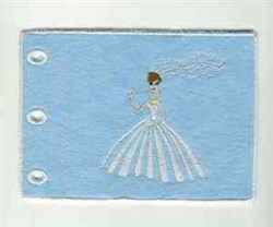 Wedding Album embroidery design