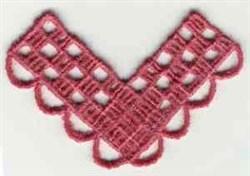 FSL Corner Lace embroidery design