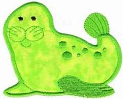 Applique Seal embroidery design