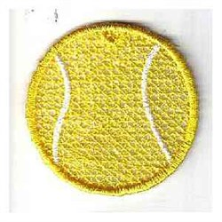 FSL Tennis Ball Ornament embroidery design