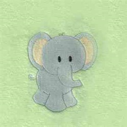 Jungle Quilt Elephant embroidery design