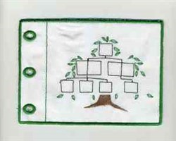 Family Album embroidery design