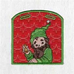 Elf Xmas Box embroidery design