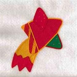 Xmas Star Ornament embroidery design