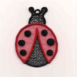 FSL Ladybug embroidery design