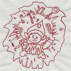Xmas Coming embroidery design