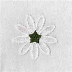 FSL Daisy Bottom embroidery design