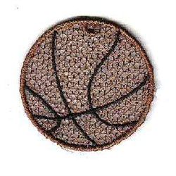 FSL Basketball embroidery design