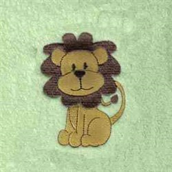 Jungle Quilt Block embroidery design