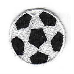 FSL Soccer Ornament embroidery design