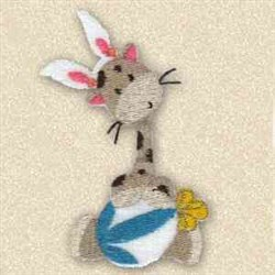 Wannabe Bunny embroidery design