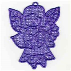FSL Angel Ornament embroidery design