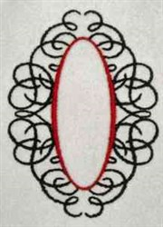 Ornamental Frame embroidery design
