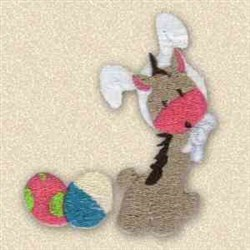 Wanna Be Bunny embroidery design