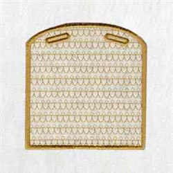 Xmas Box embroidery design
