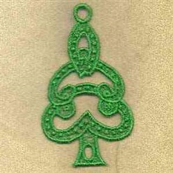 FSL Tree Ornament embroidery design