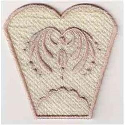 FSL Vase Side embroidery design