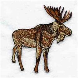 Bull Moose embroidery design