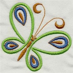 Mariposa Butterfly embroidery design