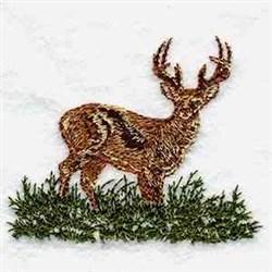 Wildlife Deer embroidery design