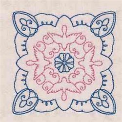 Dove Quilt Block embroidery design