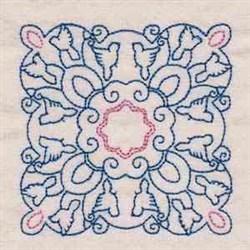 Dove Blocks embroidery design