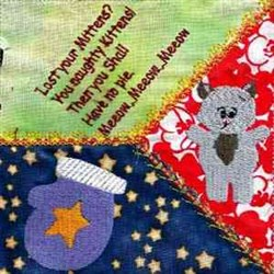 3 Little Kittens embroidery design