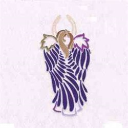 Winged Angel embroidery design