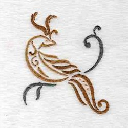 Fancy Birds embroidery design