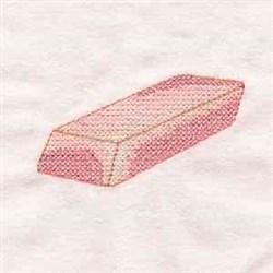 Cross Stitch Eraser embroidery design