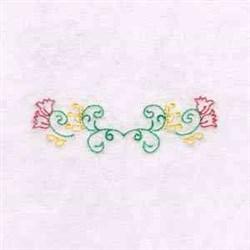 Flower Decor embroidery design