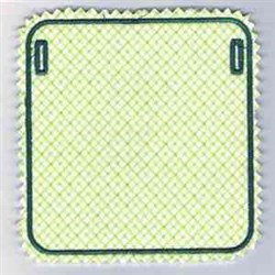 Cross Hatch Square embroidery design