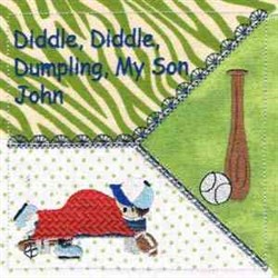 Diddle Diddle Dumpling embroidery design