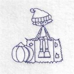 Fall Boy embroidery design