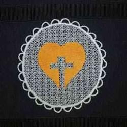 FSL Religious Sun Catcher embroidery design