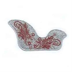 FSL Sleigh embroidery design