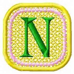 FSL Spring Banner N embroidery design