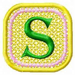 FSL Spring Banner S embroidery design