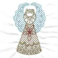 Golden Angels embroidery design