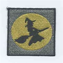 Witch Candle Wraps embroidery design