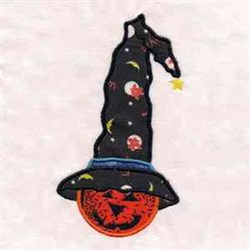 Jack O Lantern Applique embroidery design