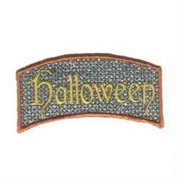 Halloween Ghost Greeter embroidery design