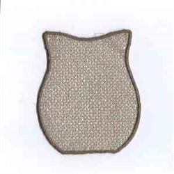 Tea Light Owl Body embroidery design