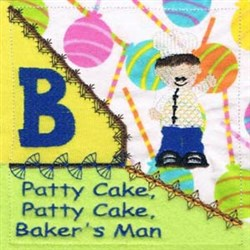 Patty Cake Quilt Embroidery Designs, Machine Embroidery ...