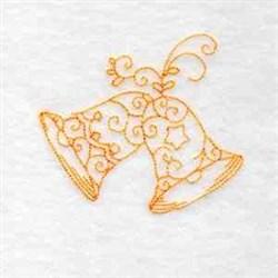 Xmas RW Bells embroidery design