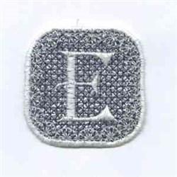 Winter Banner E embroidery design